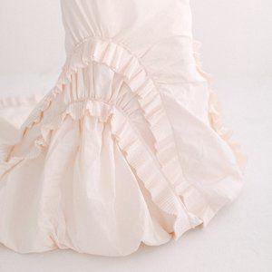 Vera Wang Couture Runway Gown Silk Taffeta Pink 2